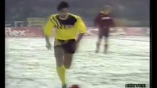 Ulf Kirsten & Matthias Sammer Vs Roma Coppa Uefa 1988 1989