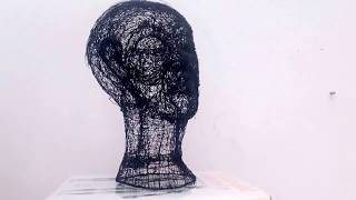 """chaplins hollow mask illusion"""