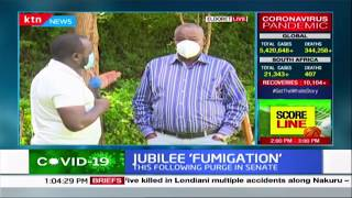 Jubilee Deputy Sec Gen Caleb Kositany talks about latest purge in the party