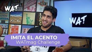 Imita el acento challenge con Dante Caro
