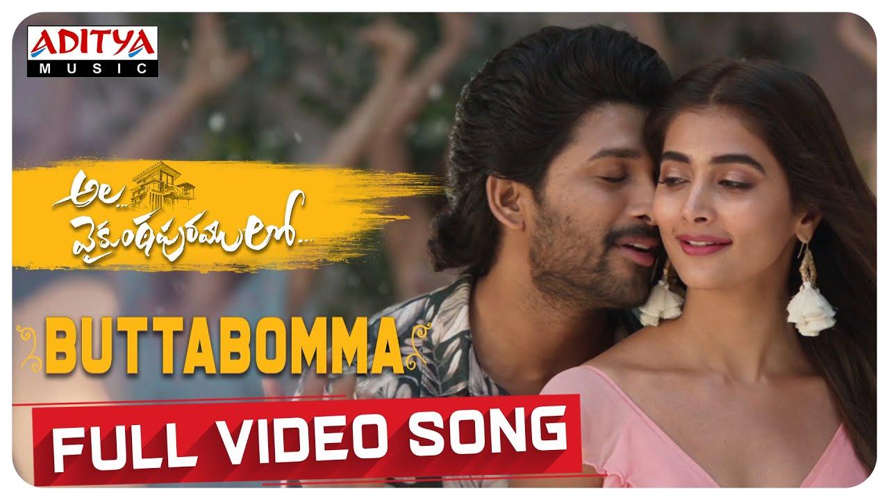 Butta Bomma Lyrics- Ala Vaikunthapurramloo, Armaan Malik