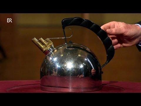 "Pfeifende Kuppel: ""Wasserkessel Alessi"" (Kunst & Krempel, BR)"