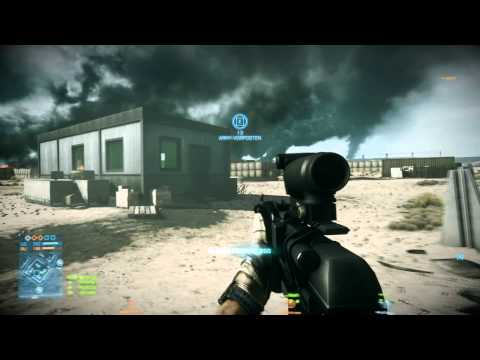 [1080 Full-HD] [Conquest Large] Battlefield 3 hardcore Operation Firestorm Assaulter ultra settings