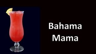 Bahama Mama Cocktail Drink Recipe
