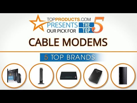Best Cable Modem Reviews 2017 – How to Choose the Best Cable Modem