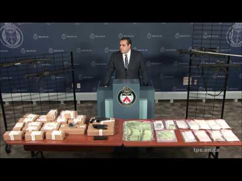 @TorontoPolice Guns & Gangs News Conference | Tuesday, January 17th, 1030AM