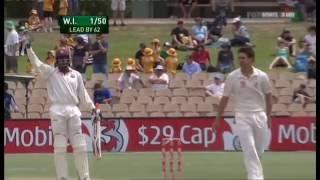 Chris Gayle 165* vs Australia 2nd Test Adelaide 2009/10