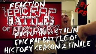 Rasputin vs Stalin. Epic Rap Battles of History Season 2 REACTION