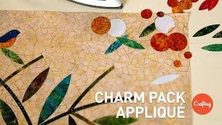 Charm Pack Appliqué (Stashbusting & Precut Ideas) | Quilting Tutorial With Edyta Sitar