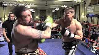 JAMES 'GYPSY BOY' McCRORY V CHRIS GROUT /FULL FIGHT/ CLASH OF THE VIKINGS / PEEP MAGAZINE