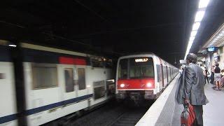 preview picture of video '[Paris] MI2N+MI84+MS61 RER A - Vincennes'