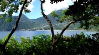 preview picture of video 'Dominica Accommodation -South End, Scott's Head, Soufriere'