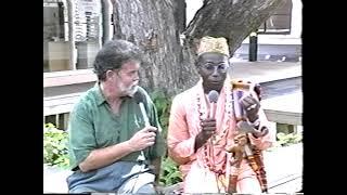 Swami Krishnapada (Bhakti Tirtha Swami) from Africa 1998