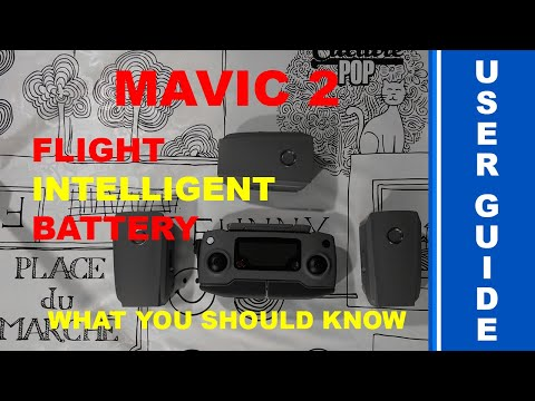 DJI Mavic 2 Flight Intelligent Battery - How-To - Activate - Charge - Storage