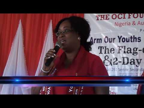 Dr Chioma Ezenyimulu, a Champion of the OCI Foundation's Arm Our Youths Health Campaign
