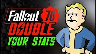GAMEBREAKING GLITCH - Double Perk Stats Double Attack Speed - Fallout 76