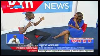 Guest Anchor: KMPDU Secretary General-Ouma Oluga
