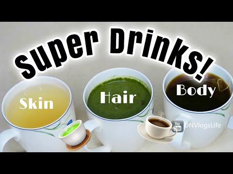 3 Amazing Drinks For Your Skin, Hair, and Body