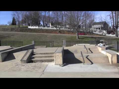 Liberty Bell Skate Park - Walkthrough | Johnson City, Tennessee