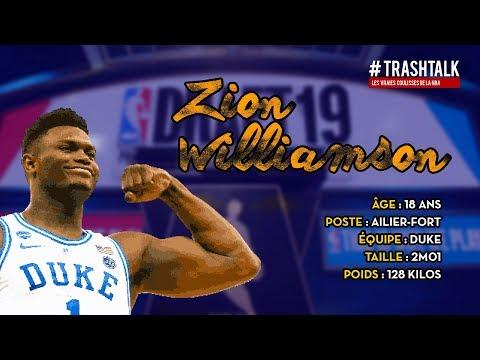 Draft NBA 2019 : Zion Williamson, le profil