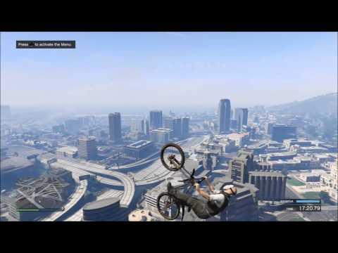Behold, GTA V's Amazing Mountain Bike Physics