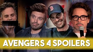 EVERYTHING THE AVENGERS CAST KNOWS ABOUT AVENGERS: END GAME 2019