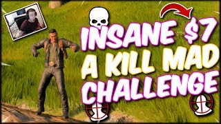 INSANE $7 A KILL CHALLENGE GETS DESTROYED!!! MX9 & GRAV 2X CHALLENGE!! COD BLACKOUT SOLO WIN!