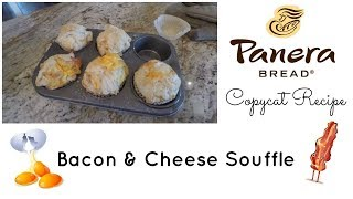 Cook With Me ~ Bacon & Cheese Souffle / Panera Bread Copycat Recipe