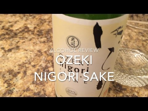 Ozeki nigori sake review