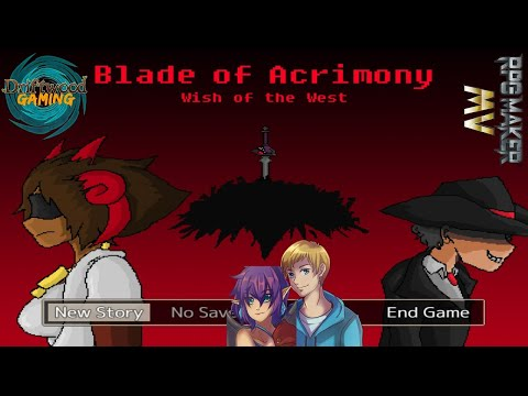 Blade of Acrimony Wish of the West First Impressions RPG Maker MV