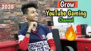 Grow YouTube Gaming Channel Fast 🔥 Get First 1000 Subscriber On YouTube