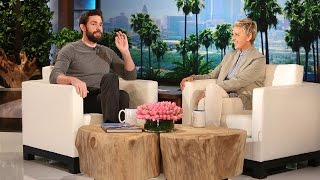 John Krasinski Talks Hanging with Leo
