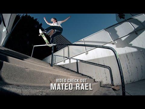 Video Check Out: Mateo Rael | TransWorld SKATEboarding