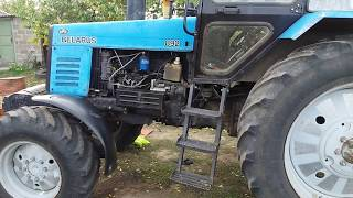 Ремонт двигателя МТЗ 892 , замена прокладки головки блока цилиндров