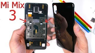 Xiaomi Mi Mix 3 is cooler than you think - Teardown