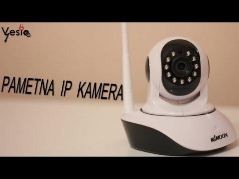 Pametna IP kamera KKmoon 720P montiranje na ulicu