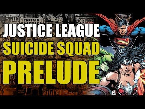 Justice League vs Suicide Squad Prelude: Justice League (The Return of Maxwell Lord)