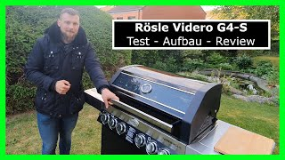 Rösle Videro G4-S - Test Aufbau Review | Grillen, Gasgrill, BBQ