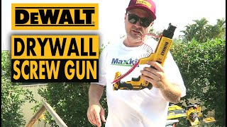 Drywall Construction Tools - DEWALT Brushless Collated Screwdriver