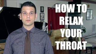 How to Relax Your Throat While Singing