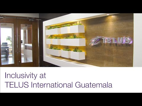 Image cover of video:  Inclusiveness at TELUS International - Hearing Impaired, Guatemala