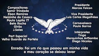 Portela 2017 - Samba Concorrente de Samir Trindade e parceria