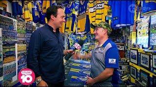 Meet The Parramatta Eels' Most Dedicated Fan | Studio 10