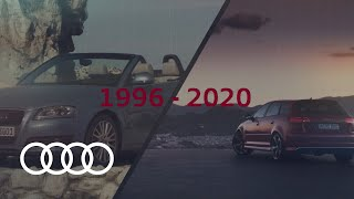 YouTube Video 2mYlpPLNUKs for Product Audi A3 Sportback (4th gen, Typ 8Y) by Company Audi in Industry Cars