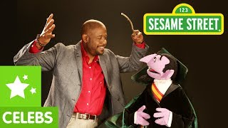 Sesame Street: Forest Whitaker&The Count Imagine