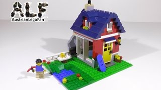 Lego Creator 31009 Small Cottage / Landhaus - Lego Speed Build Review