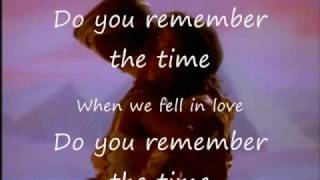 Remember The Time By Michael Jackson (with Lyrics)