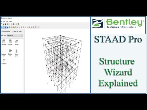 STAAD Pro Tutorial For Beginners [Episode 5]: Using Structure ...