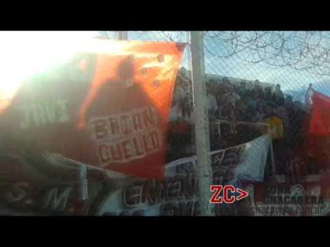 """""""Hinchada de San Martín de Mendoza vs Montecaseros 2"""" Barra: Los Leones del Este • Club: San Martín de Mendoza"""