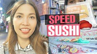 HIGH-SPEED SUSHI in Japan ist zu krass! (+ Akihabara)